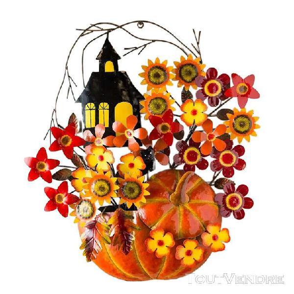 Halloween thanksgiving wall art home decor fond tenture mura