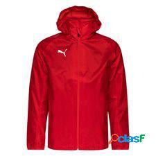 Puma veste de pluie liga core - rouge/blanc