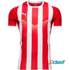Puma maillot liga striped - rouge/blanc