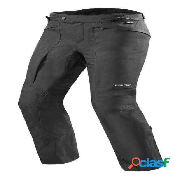 Rev'it! globe gtx pants, pantalon moto en gore-tex® hommes, noir longues