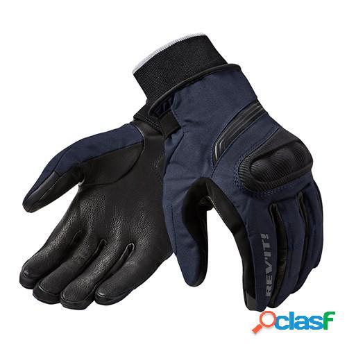Rev'it! hydra 2 h2o, gants moto d'hiver, bleu