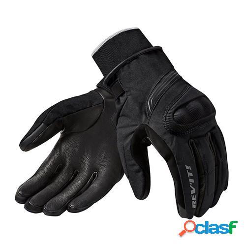 Rev'it! hydra 2 h2o, gants moto d'hiver, noir