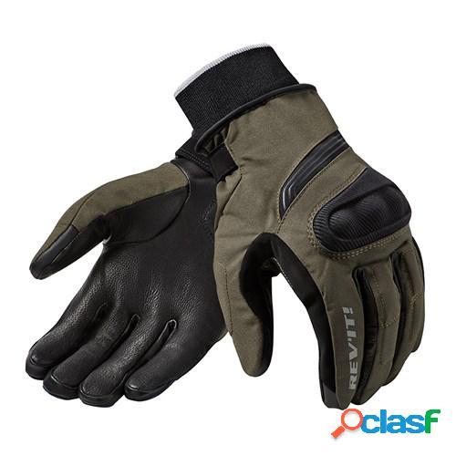Rev'it! hydra 2 h2o, gants moto d'hiver, vert
