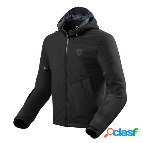 Rev'it! afterburn h2o, veste moto textile hommes, noir