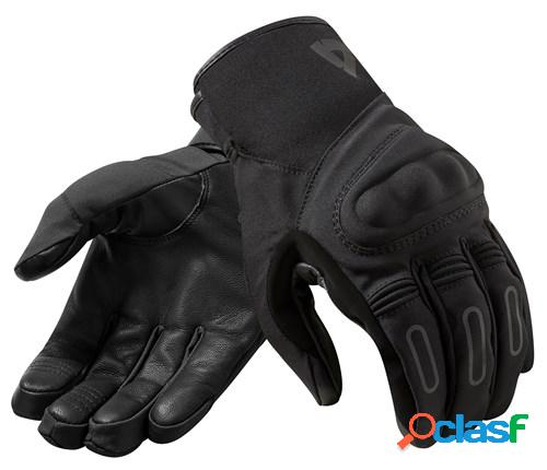 Rev'it! cassini h2o, gants moto mi-saison, noir