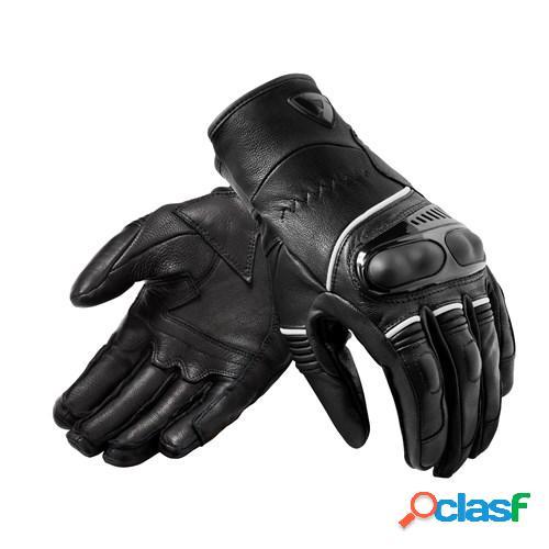 Rev'it! hyperion h2o, gants moto de compétition, noir blanc