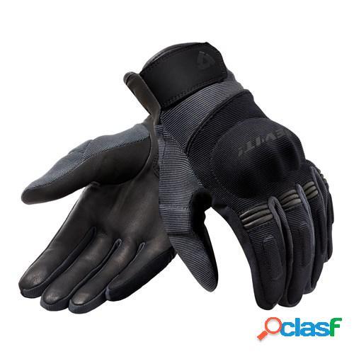 Rev'it! mosca h2o, gants moto mi-saison, noir anthracite