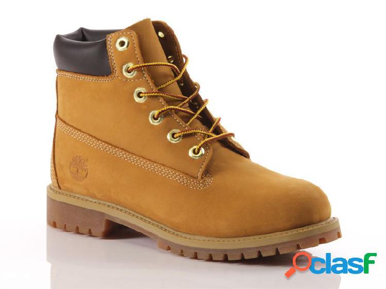 Timberland waterproof boot 6-inch premium kids, 36, 37, 38, 39, 39½, 40 unisex ragazzi, giallojaune