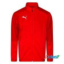 Puma veste d'entraînement liga - rouge/blanc