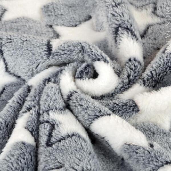 Chien chat chien chat lit de repos couverture respirant cous