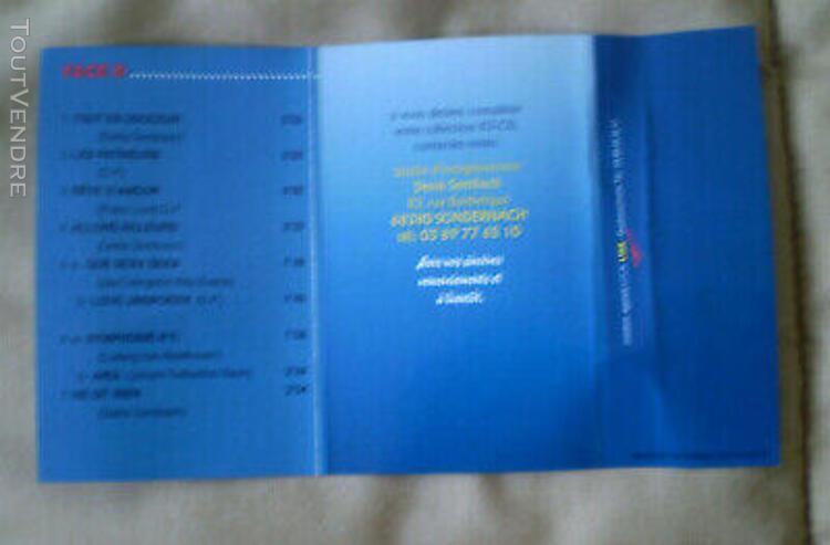 Denis sembach classical love * k7 audio - vol.27