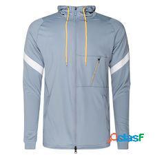 Nike track veste next gen strike - bleu foncé/orange
