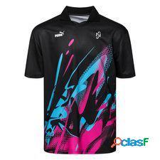 Puma maillot d'entraînement neymar jr. creativity - noir/rouge/bleu