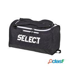 Select sac de sport lazio medium - noir/blanc