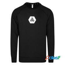 Adidas sweat-shirt tango crew logo - noir/blanc
