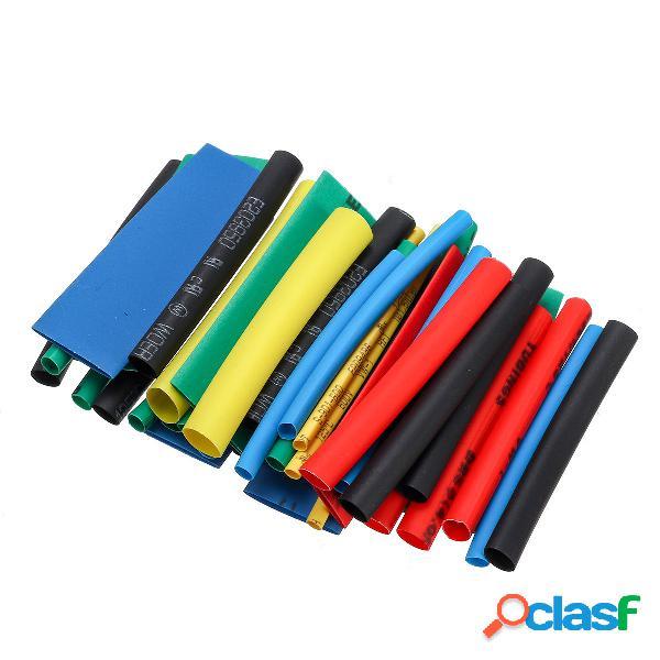 560 pcs thermorétractable fil câble tuyau enveloppe de tube rétractable 2: 1 set kit