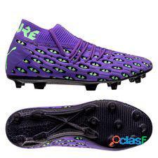 Puma future 6.1 netfit fg/ag fear - violet/vert/noir