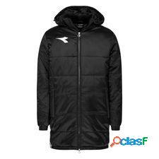 Diadora manteau d'hiver long equipo pro - noir