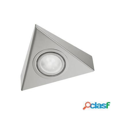 Triangle ledspot. Inox