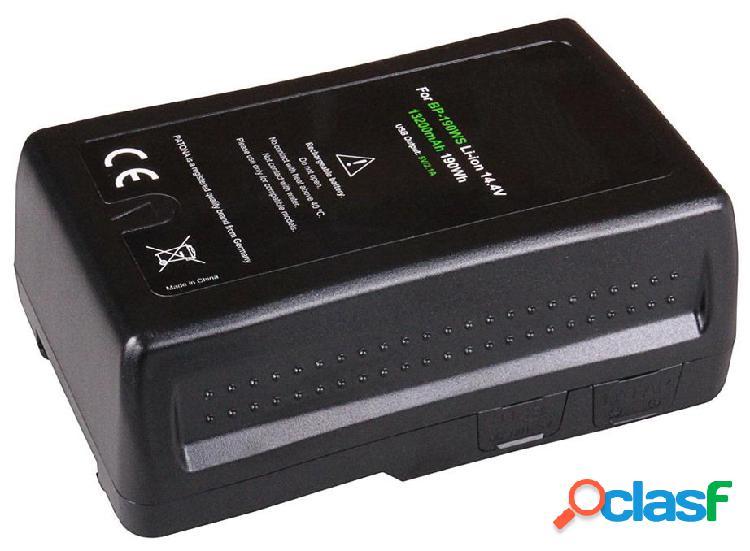 Batterie V-Mount BP-190WS pour caméra vidéo professionnelle