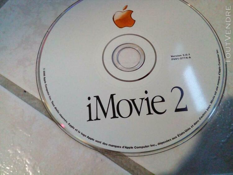 Cd rom 2000 apple imovie 2 for mac - version 2.0.1 install c