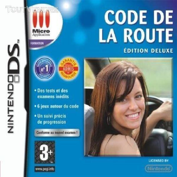 Code de la route deluxe edition 2009 - nintendo ds ensemble