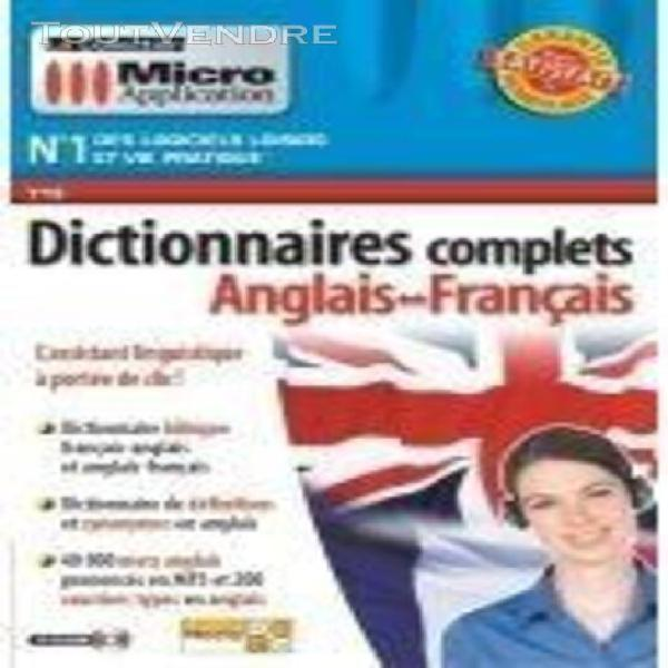 Dictionnaires complets anglais-français
