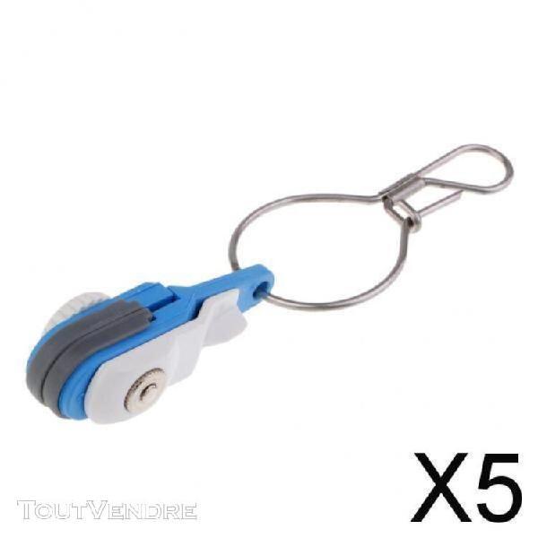 Fenteer 5 clips de déverrouillage de traîne à