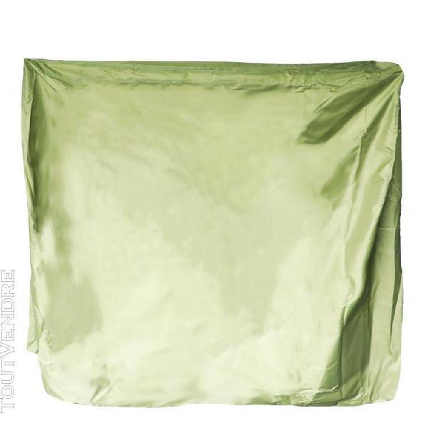 Housse de tennis de table étui de rangement en tissu oxford