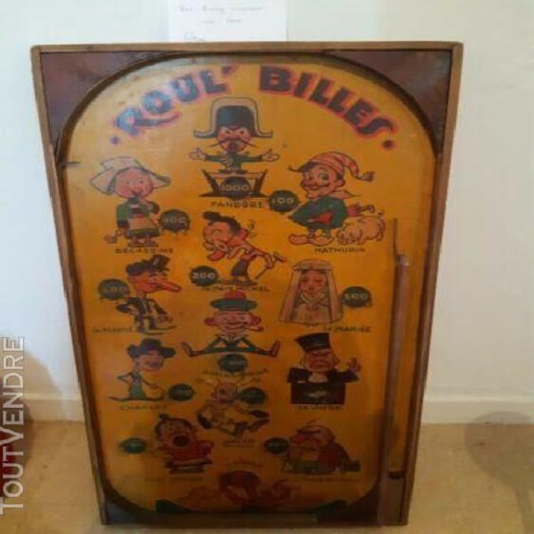 Jeux de café ancien roul'billes 1940 (picture)