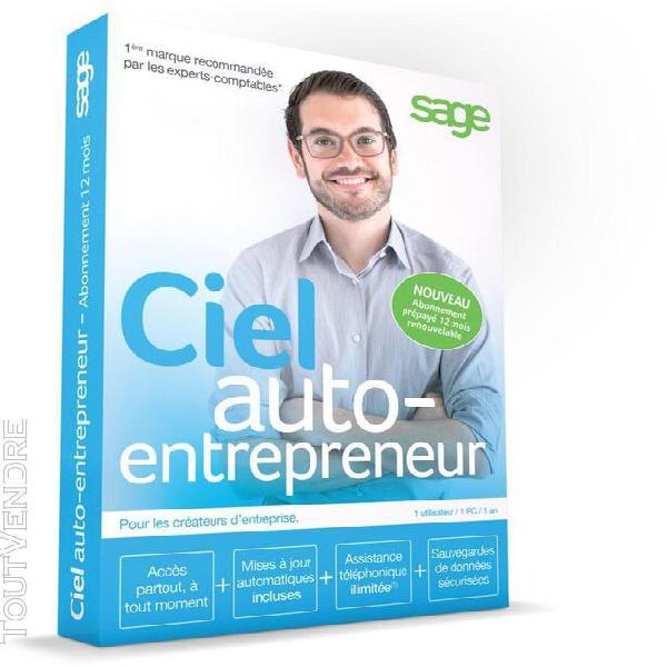 Log-pc ciel auto-entrepreneur abonnement