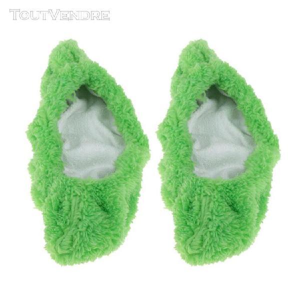 Paire de protège-lame pour chaussures de patinage m vert