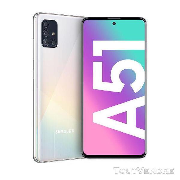 Samsung galaxy a51 128 go double sim blanc