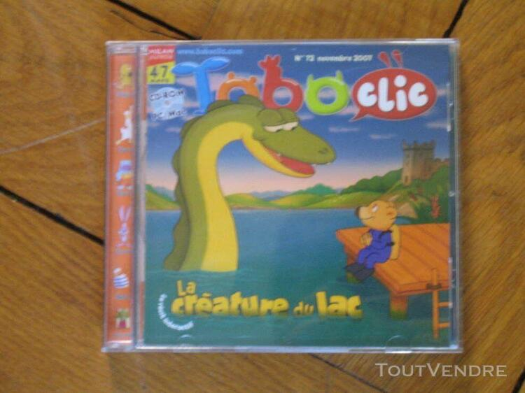 Toboclic n°72 la créature du lac