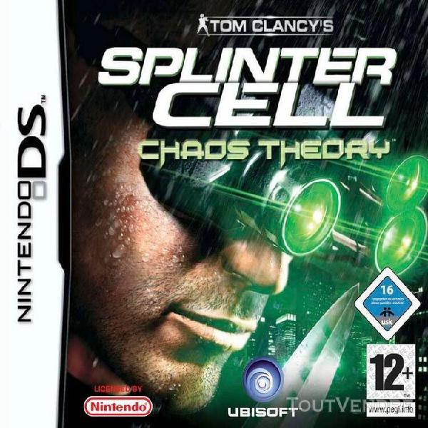 Tom clancy's splinter cell chaos theory - ensemble complet -