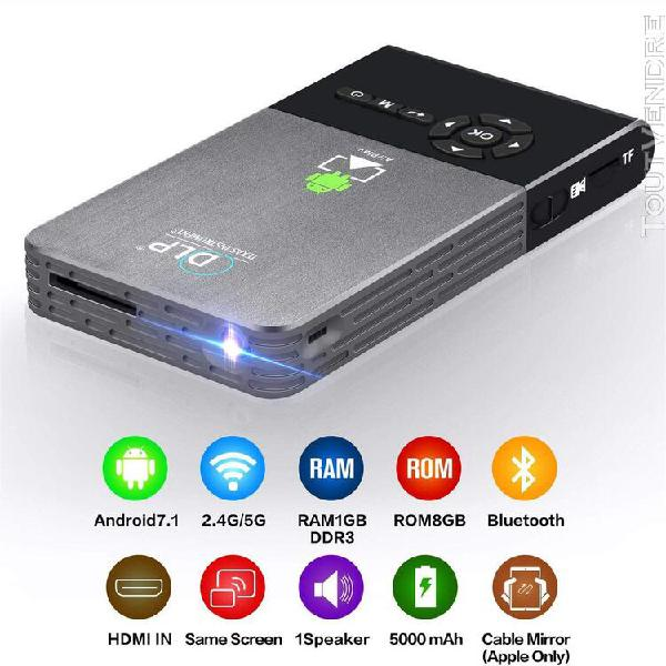 Android intelligent dlp hd home 3d mini office phone hd wire