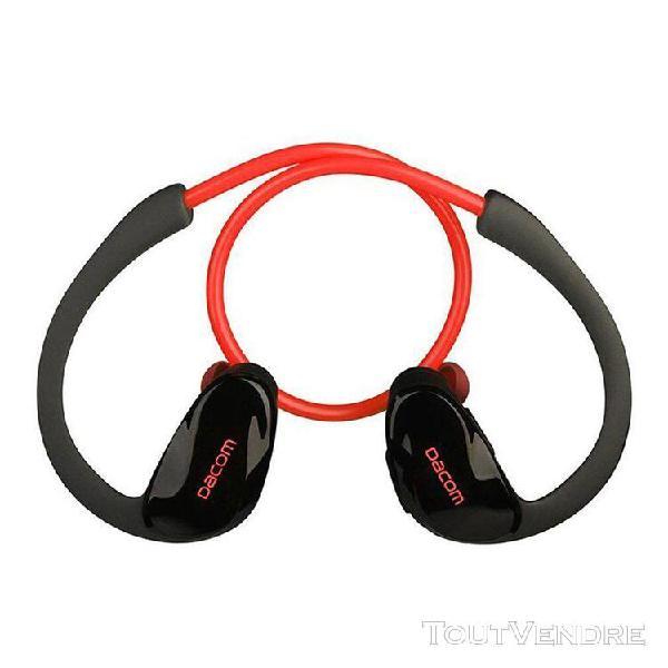 Sports casque sans fil bluetooth dacom athlète un