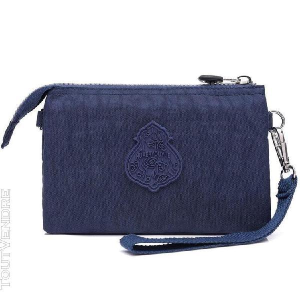 Dark blue -sacs à bandoulière pour filles, pochette en