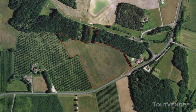 Terrain agricole la sauvetat sur lede 52539 m2