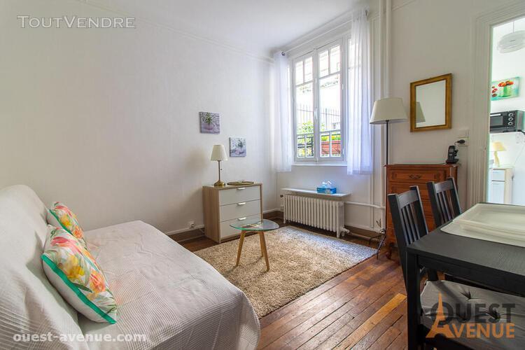 Appartement levallois perret 1 pièce(s) 20 m2