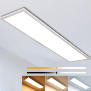 Plafonnier led dimmable 120x30cm, super panneau blanc