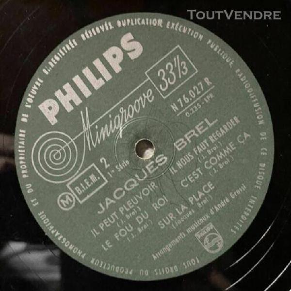 Jacques brel - et ses chansons