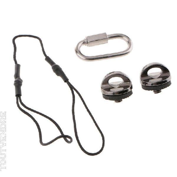 Lanière pour lampe de poche avec boucle dragonne