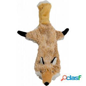 Flatties peluche couinante pour chien - 56 cm raton laveur