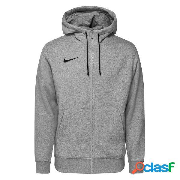 Nike sweat à capuche fleece fz park 20 - gris/noir