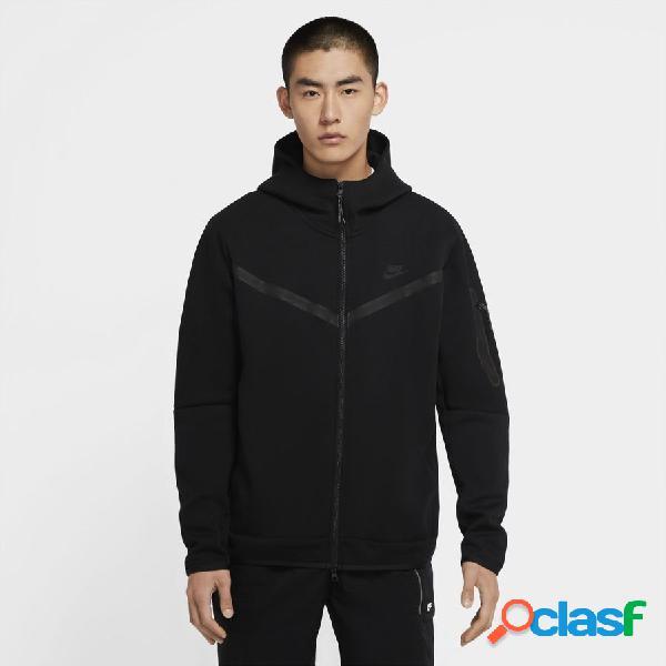 Nike sweat à capuche nsw tech fleece - noir