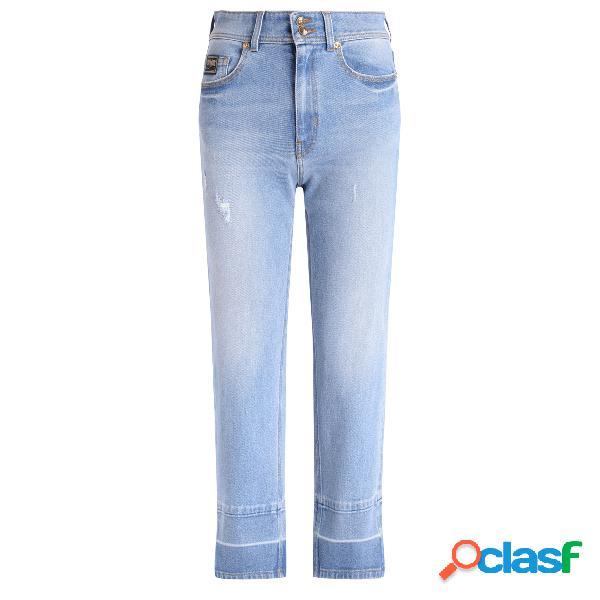 Jeans versace jeans couture en denim bleu