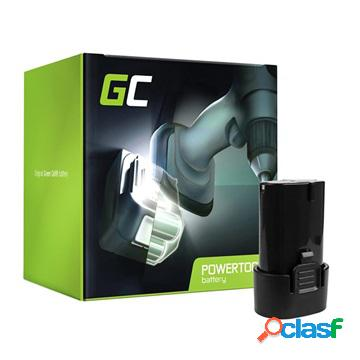 Batterie green cell - makita bl7010, bl0715 - 1500mah