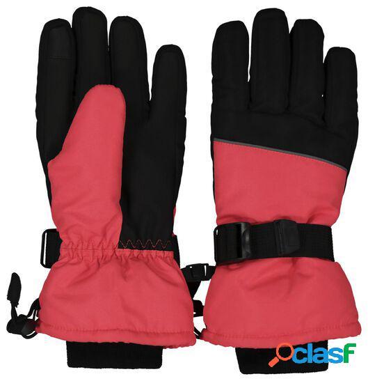 Hema gants de ski enfant rose (rose)