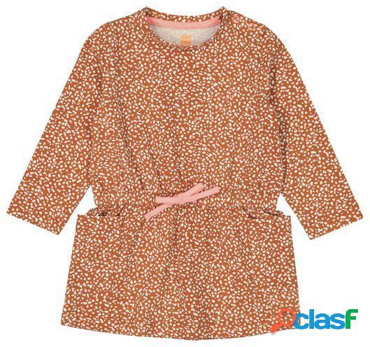 Hema robe bébé marron (marron)